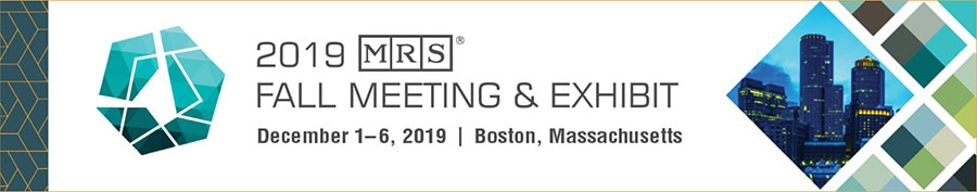 Materials Research Socisty MRS 2019 Meeting