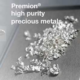 Premion high purity precious metals